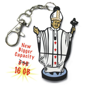 St. John Paul II 16GB Flash Drive