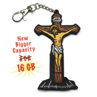 16GB Crucifix Flash Drive