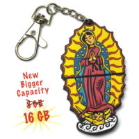 Our Lady of Guadalupe flash drive