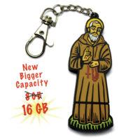 Padre Pio 16GB Flash Drive