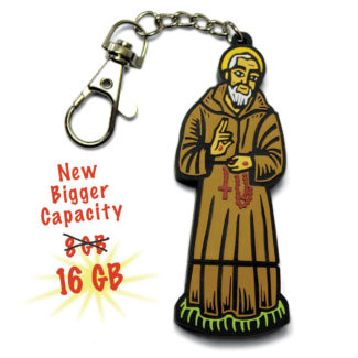 Padre Pio 16GB Flash Drive