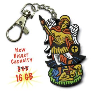 Saint Michael flash drive