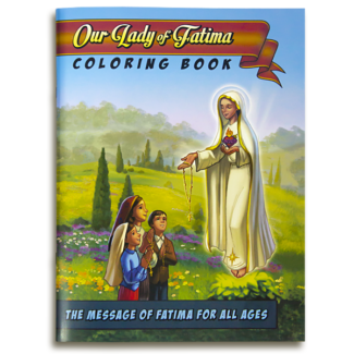 Our Lady of Fatima Coloring Book